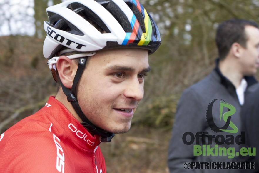 Michiel van der Heijden Nederlands kampioen
