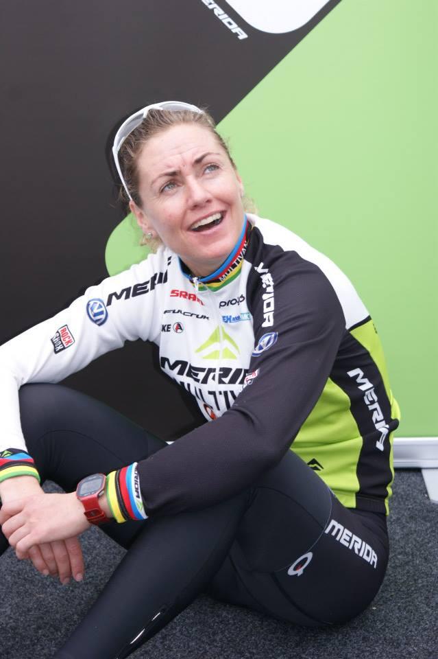 Fabian Giger en Gunn Rita Dahle eindwinnaars van Afxentia stage race