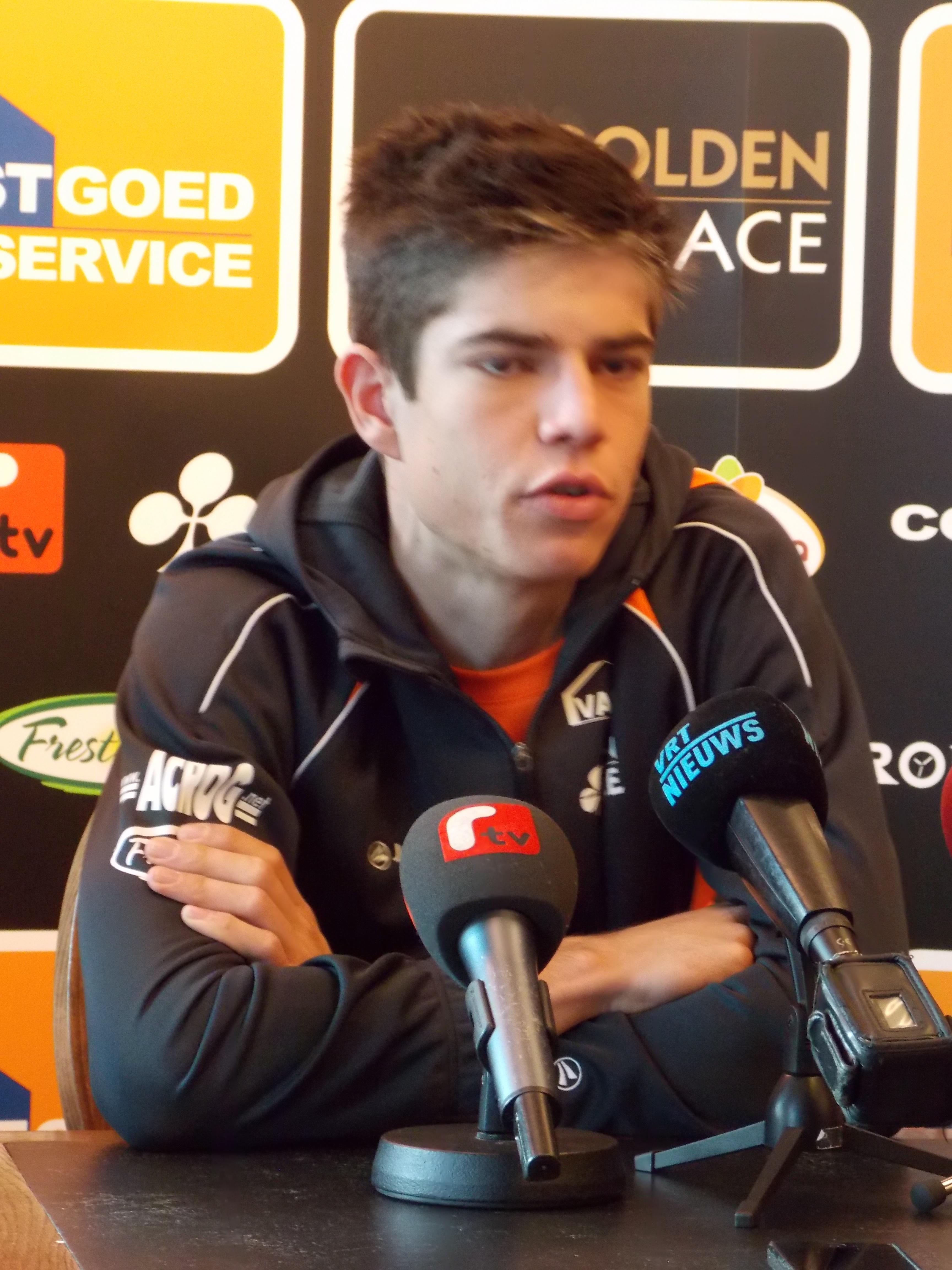 Zilvercross in Mol gewonnen door jonkie Wout Van Aert