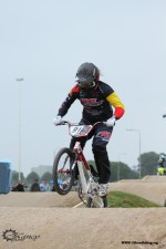 Wereldbeker wedstrijd BMX Supercross selectie
