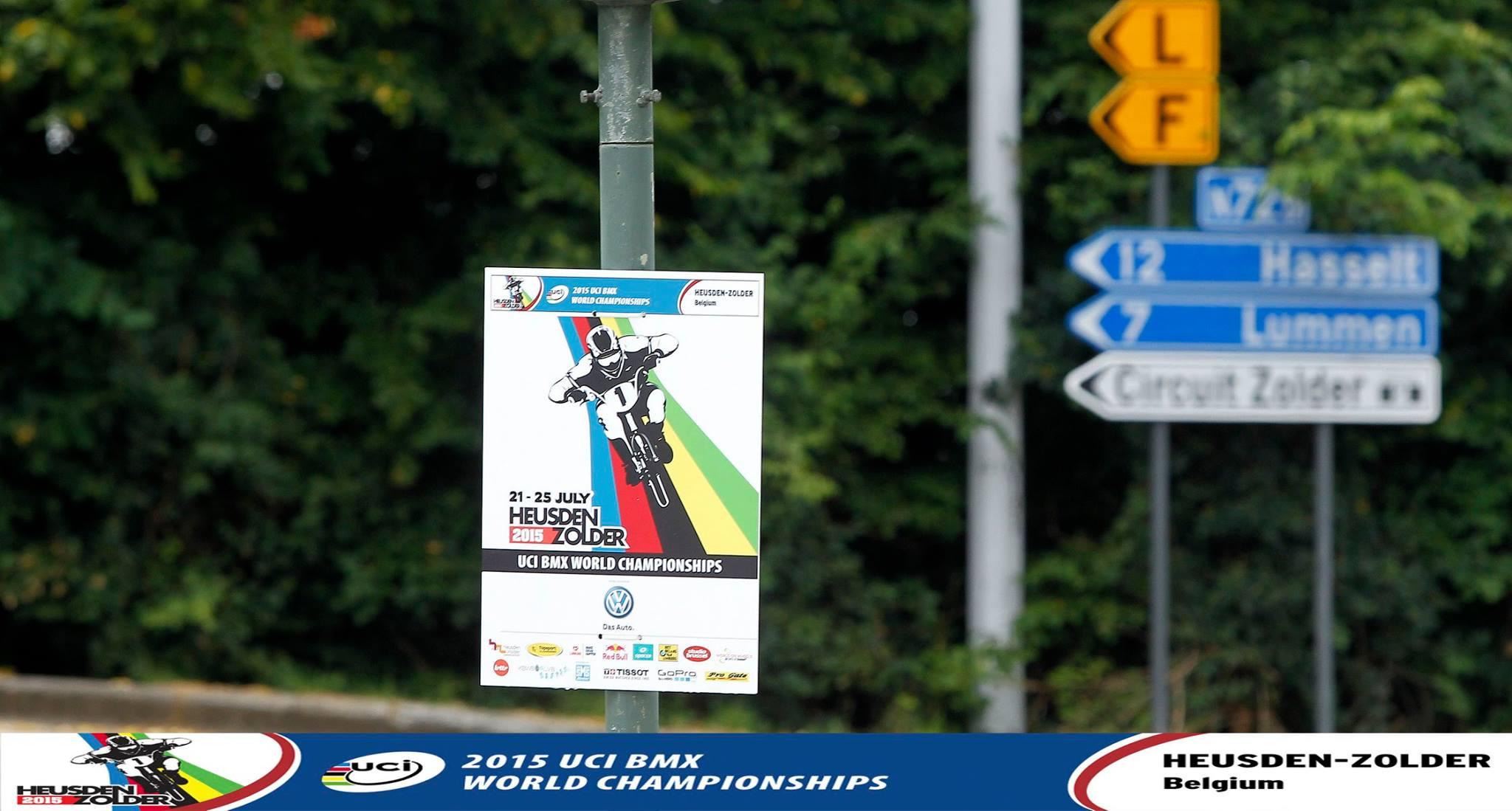 Praktische informatie betreffende WK BMX Challenge in Zolder