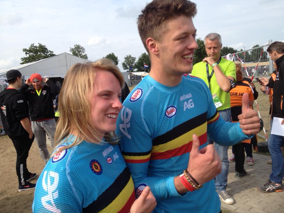 Matthijs Verhoeven en Elke Van Hoof pakken de Europese titel in Erp bij junioren Men en Elites Women
