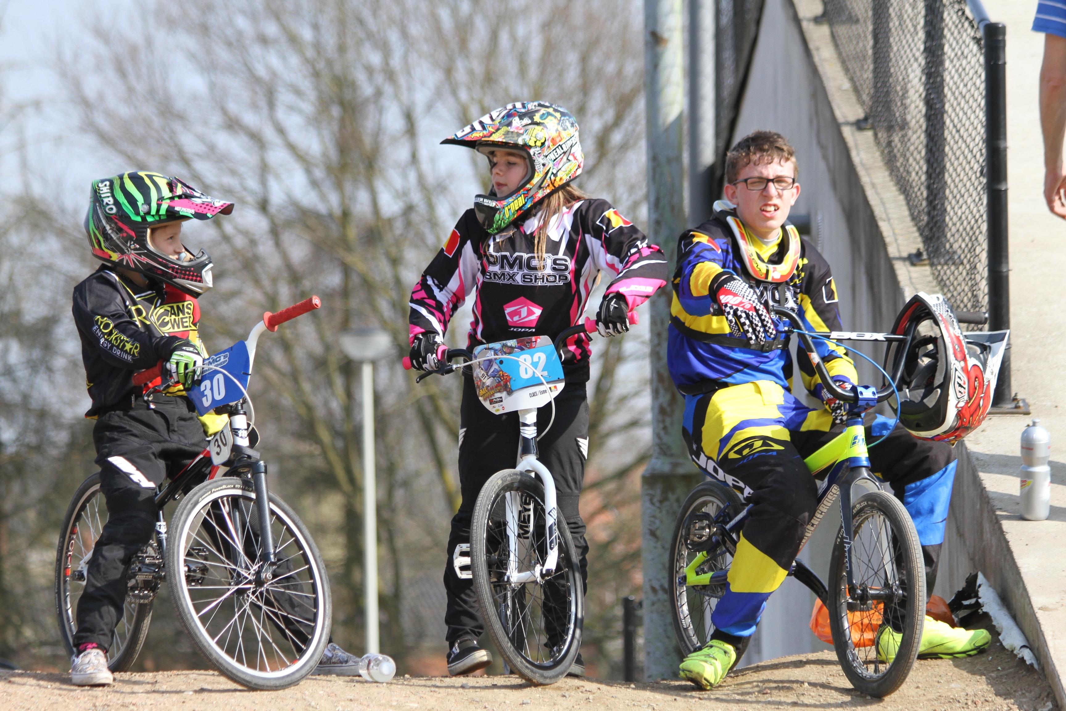 Belgisch Kampioenschap Massenhoven : huldiging voor -12-jarigen