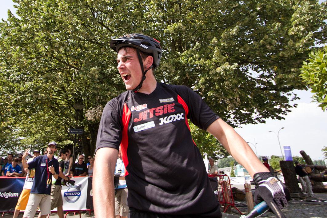 Jack Carthy Europees kampioen trial 26″