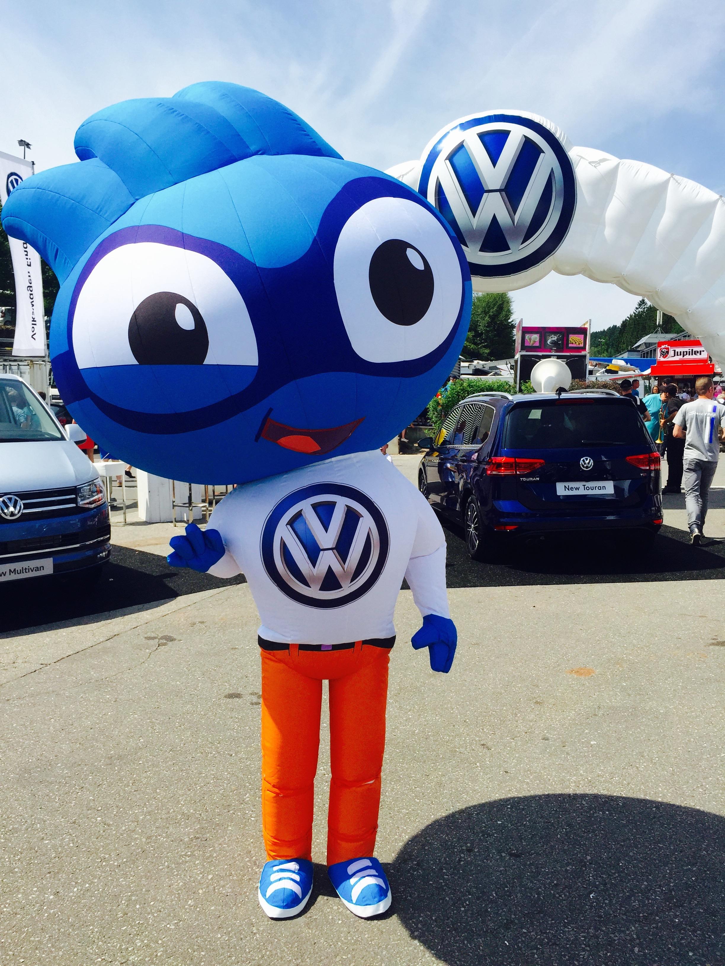 Sportief, familiaal & fair-play, … VW en het WK BMX dragen dezelfde waarden uit