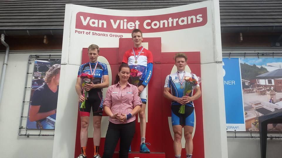 Yannick Runhart(amateurs) en Patrick Jansen(masters 40+) zijn Nederlands kampioen