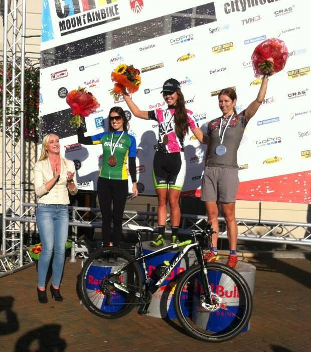 Kristien Nelen tweede in City Mountainbike van Roosendaal