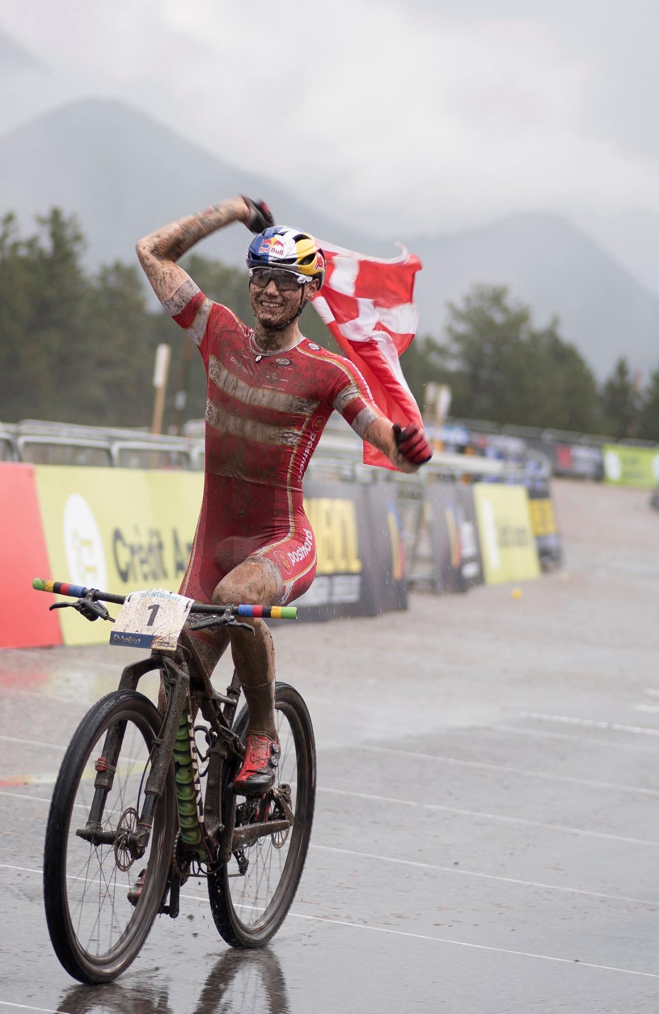 Simon Andreassen verlengt wereldtitel bij de junioren