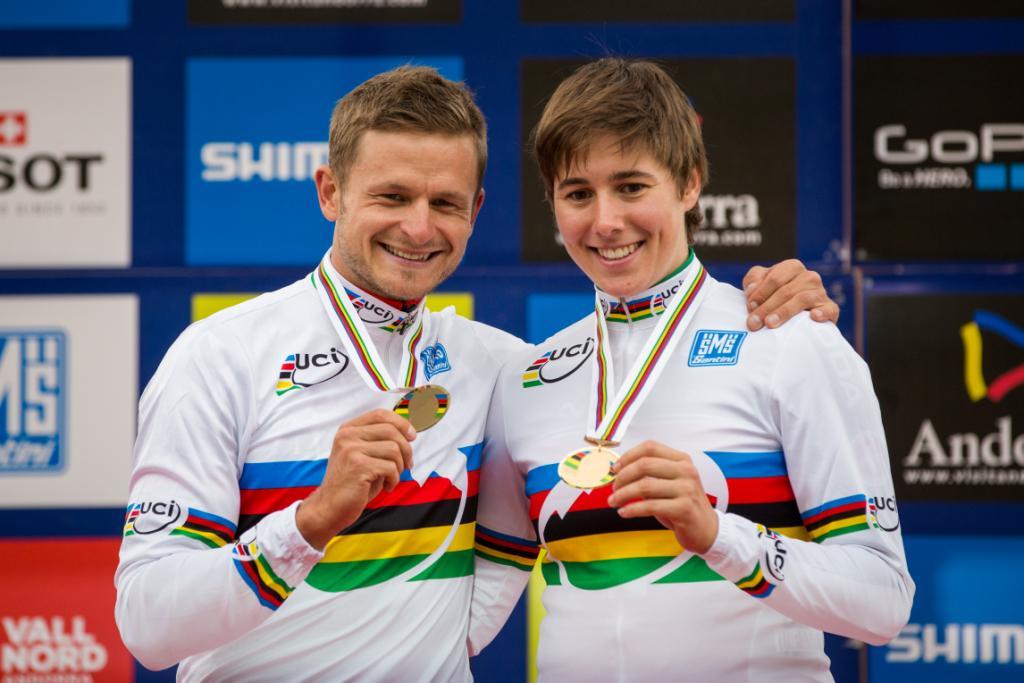 Daniel Federspiel en Linda Indergand nieuwe wereldkampioenen  Eliminator. Fabrice Mels(7de) uitgeschakeld in halve finale