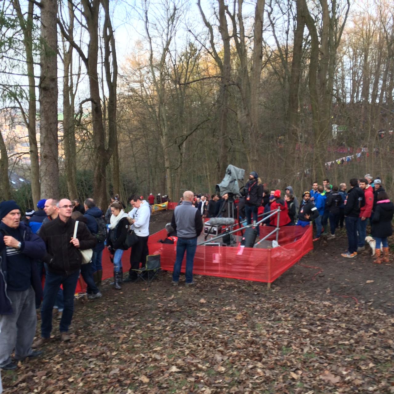 Koppenbergcross krijgt aankomst bovenop de mythische helling