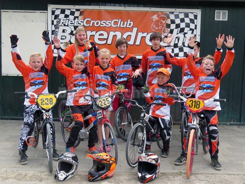 Aanleg nieuw BMX Parcours in Barendrecht NL