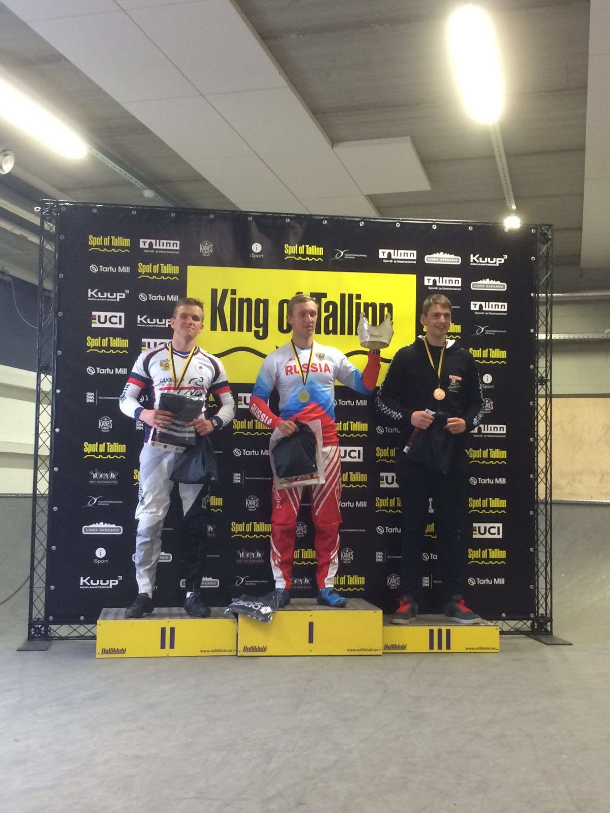 Dimitri Lenaerts behaalt derde plaats in Estland