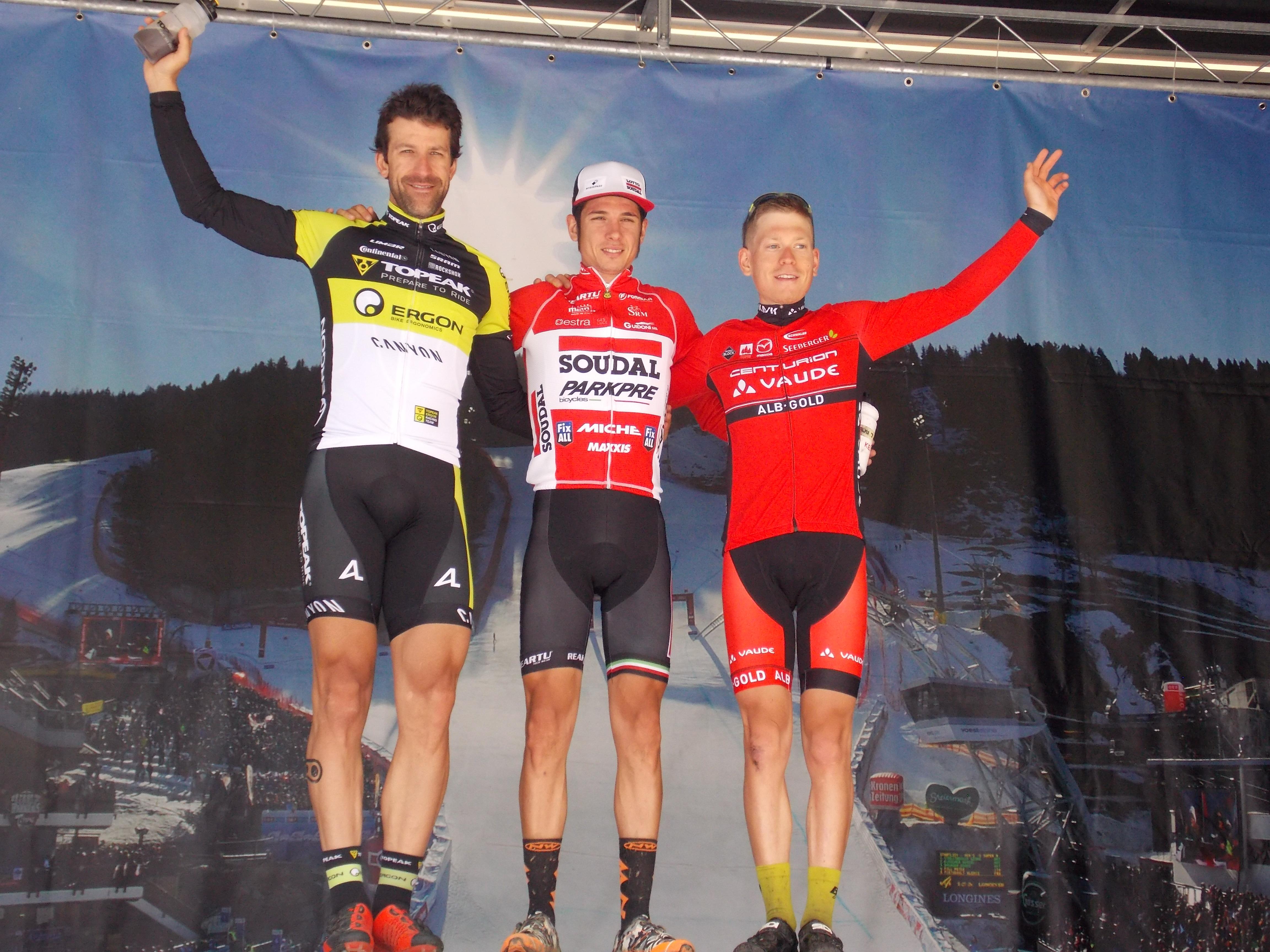 Daniele Mensi wint koninginnerit in Alpentour Trophy