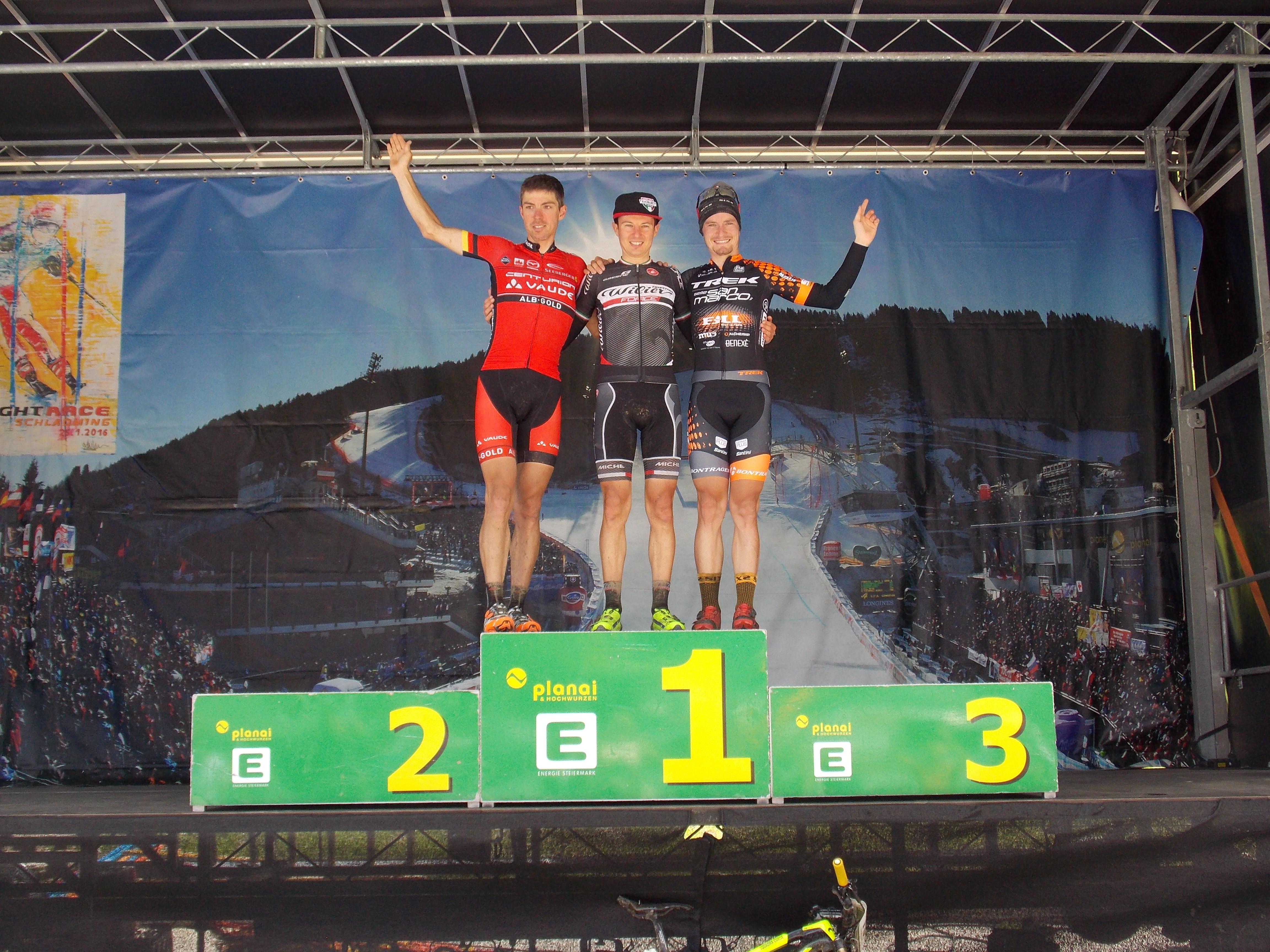 Tony Longo zegeviert in tweede etappe en is nieuwe leider in Alpentour Trophy