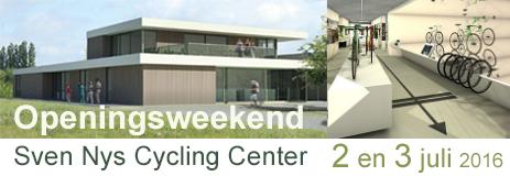 Officiële opening Sven Nys Cycling Center 02-03 juli 2016