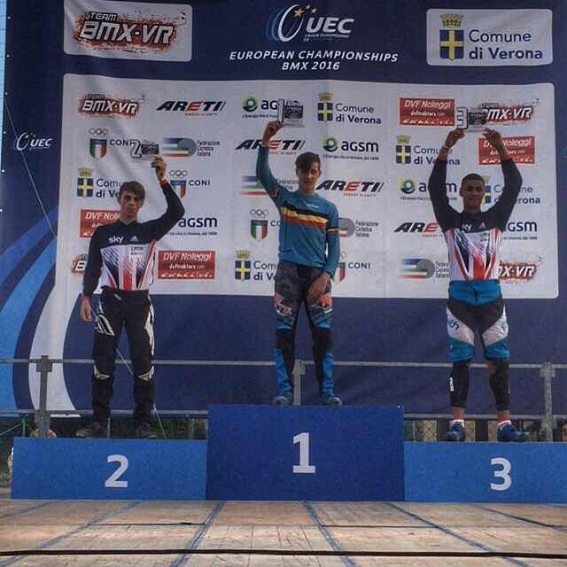 Pieter Leroi pakt de Europese Titel in Verona