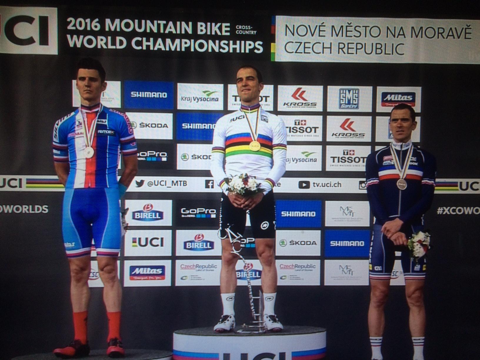 Nino Schurter opnieuw wereldkampioen in Nove Mesto