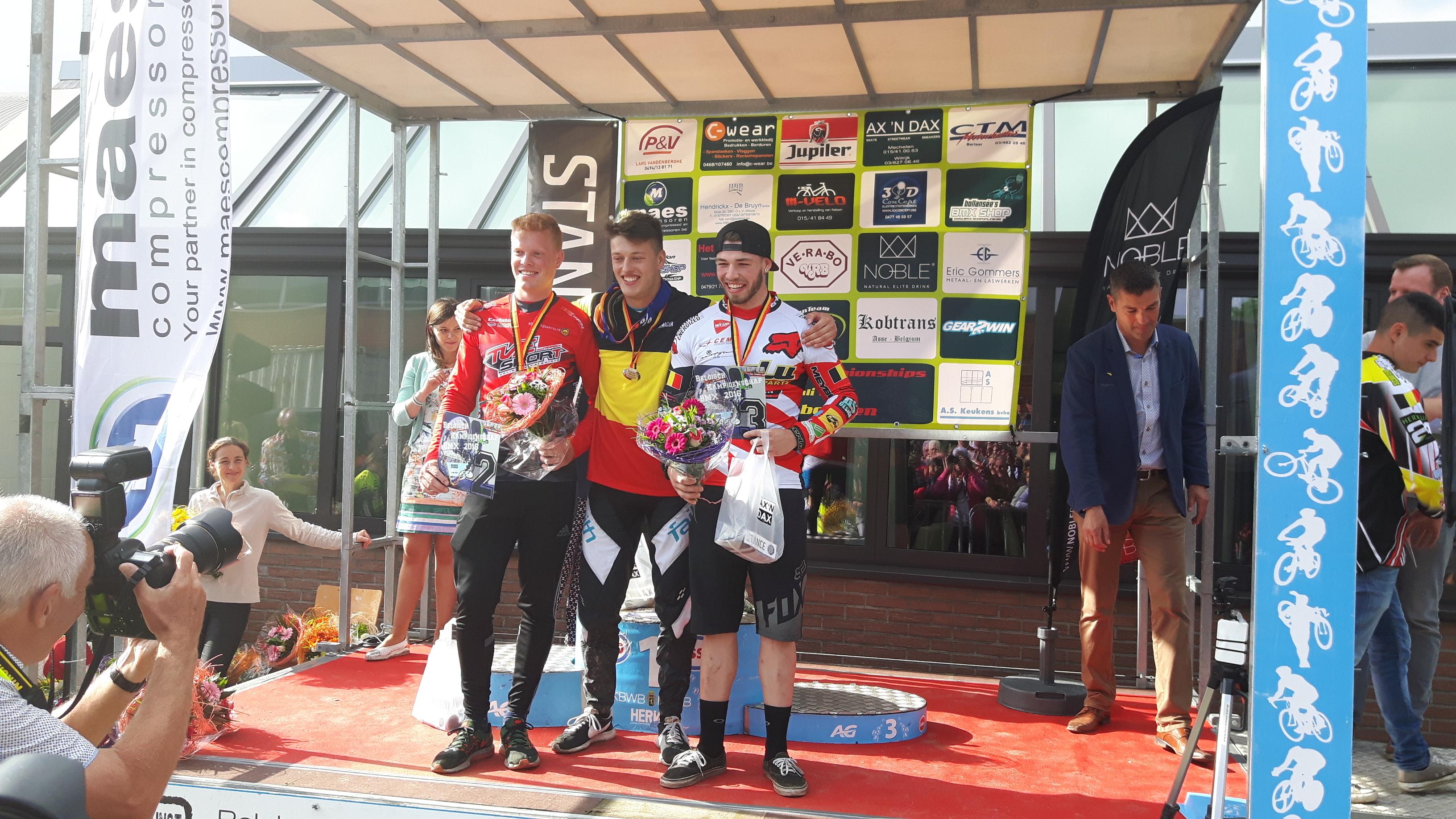 BMX 2000 DESSEL succesvol op het kampioenschap van België