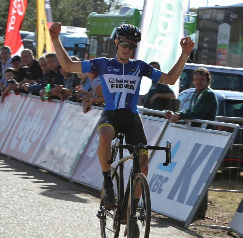 Quinten Hermans volgt zichzelf op als Europees kampioen bij de beloften