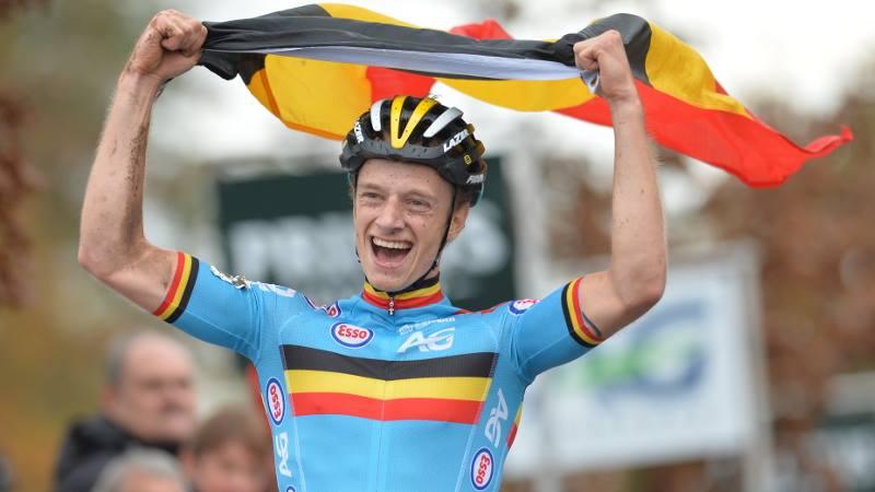 Quinten Hermans maakt toprol waar en kroont zich tot Belgische Kampioen bij de beloften in Oostende