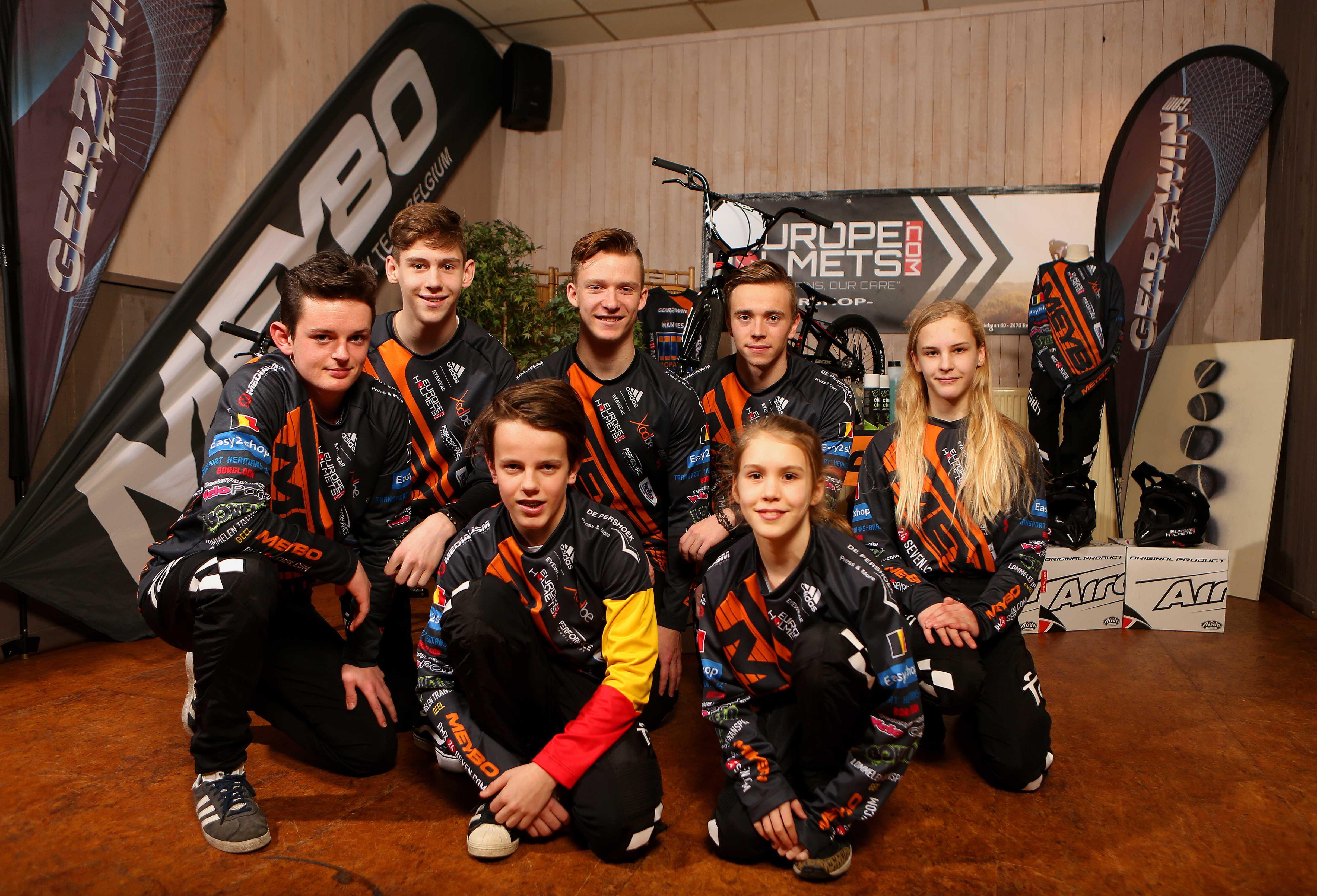 Meybo Factory Team Belgium voorgesteld