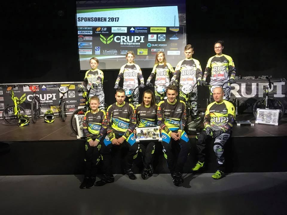 Crupi Belgium Team 2017