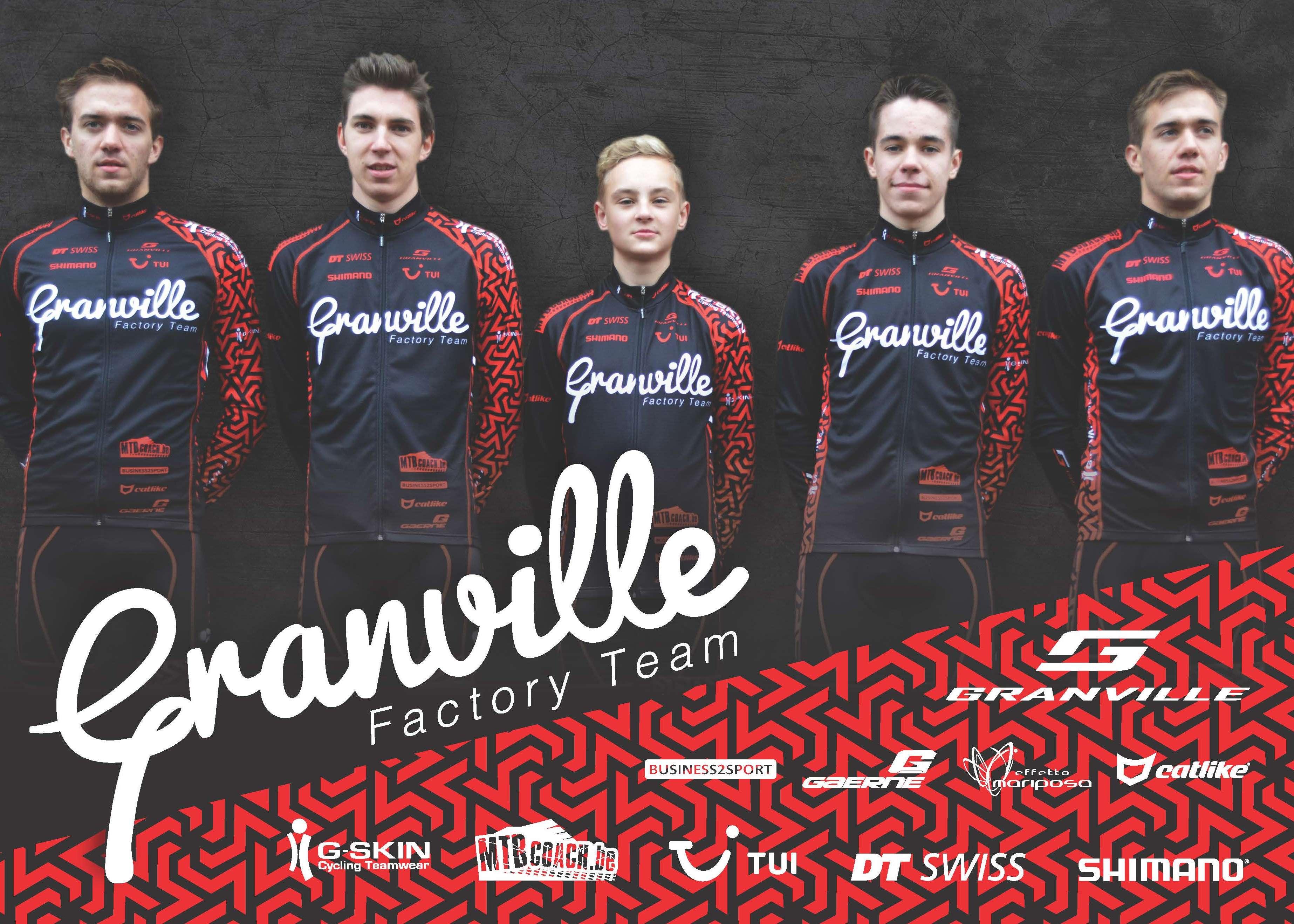 Granville Factory Team na stage klaar voor het nieuwe seizoen