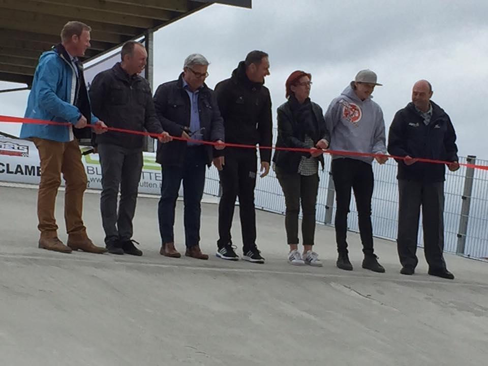 Joël Smets BMX -circuit heropend op 01 mei 2017