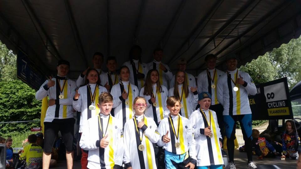 3 Nationale Titels voor PMC Cycling in Gent 4 juni 2017