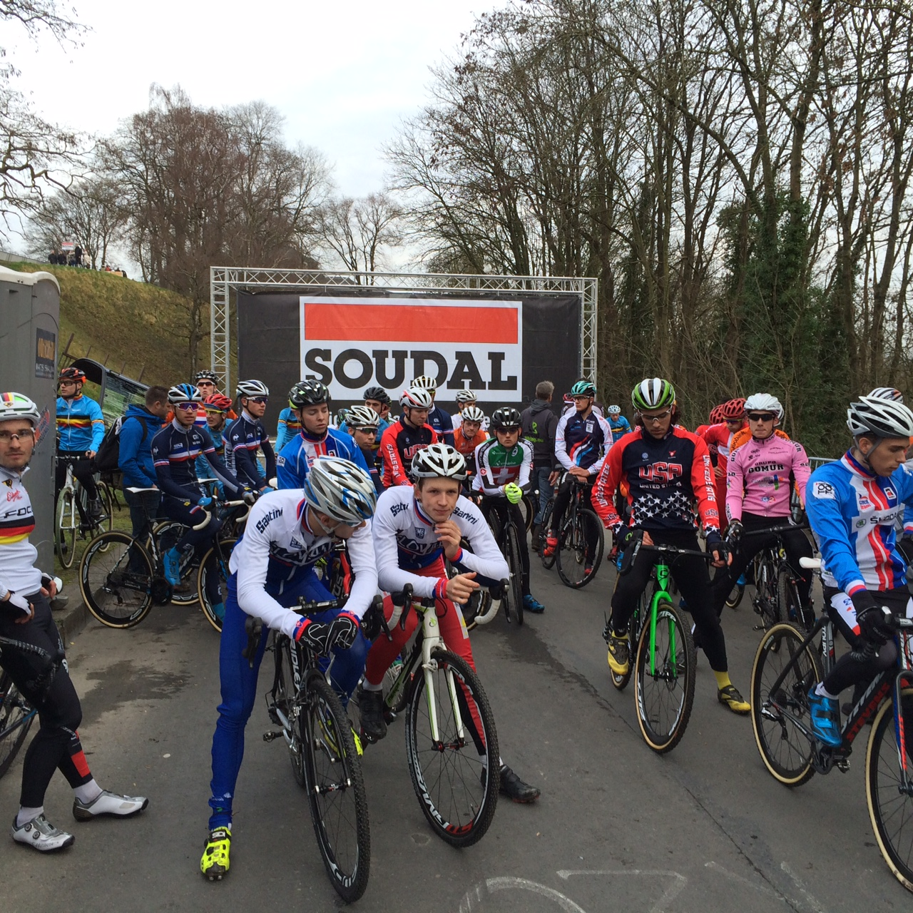 Hold your Horses is nieuwe spectaculaire proef op Soudal Cyclocross Masters Waregem