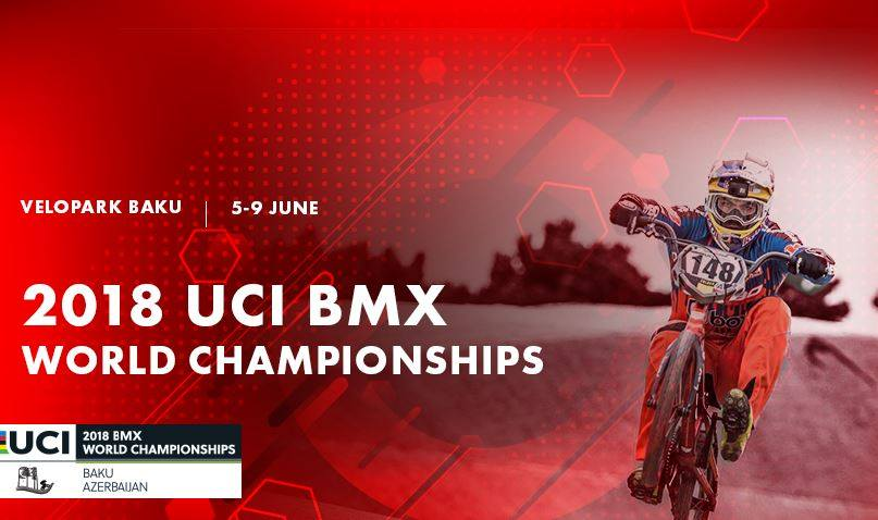 Officiële selectie WK Baku BMX