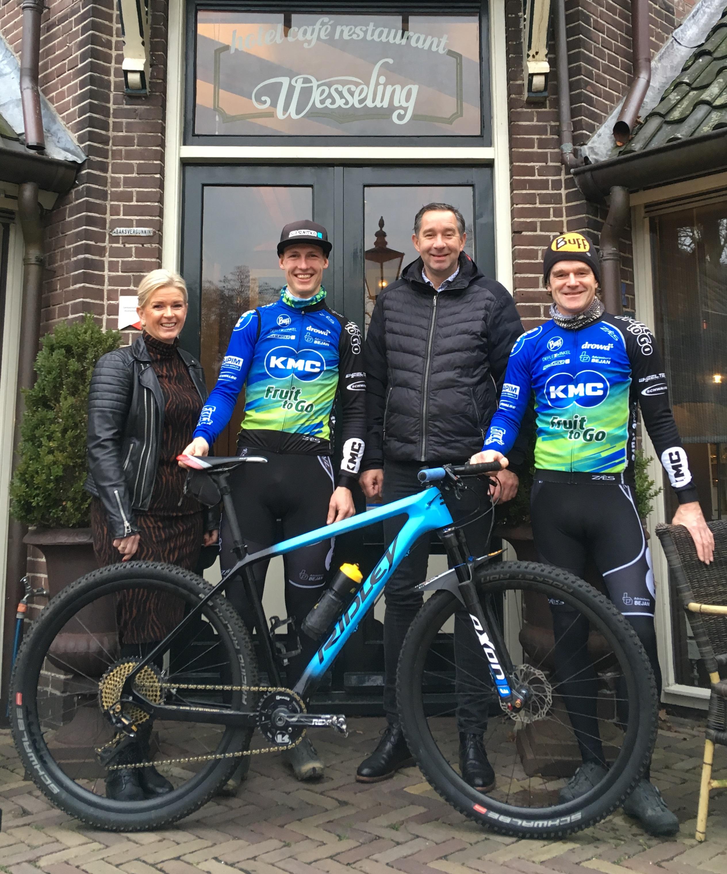 Hotel Wesseling partner KMC mountainbiketeam