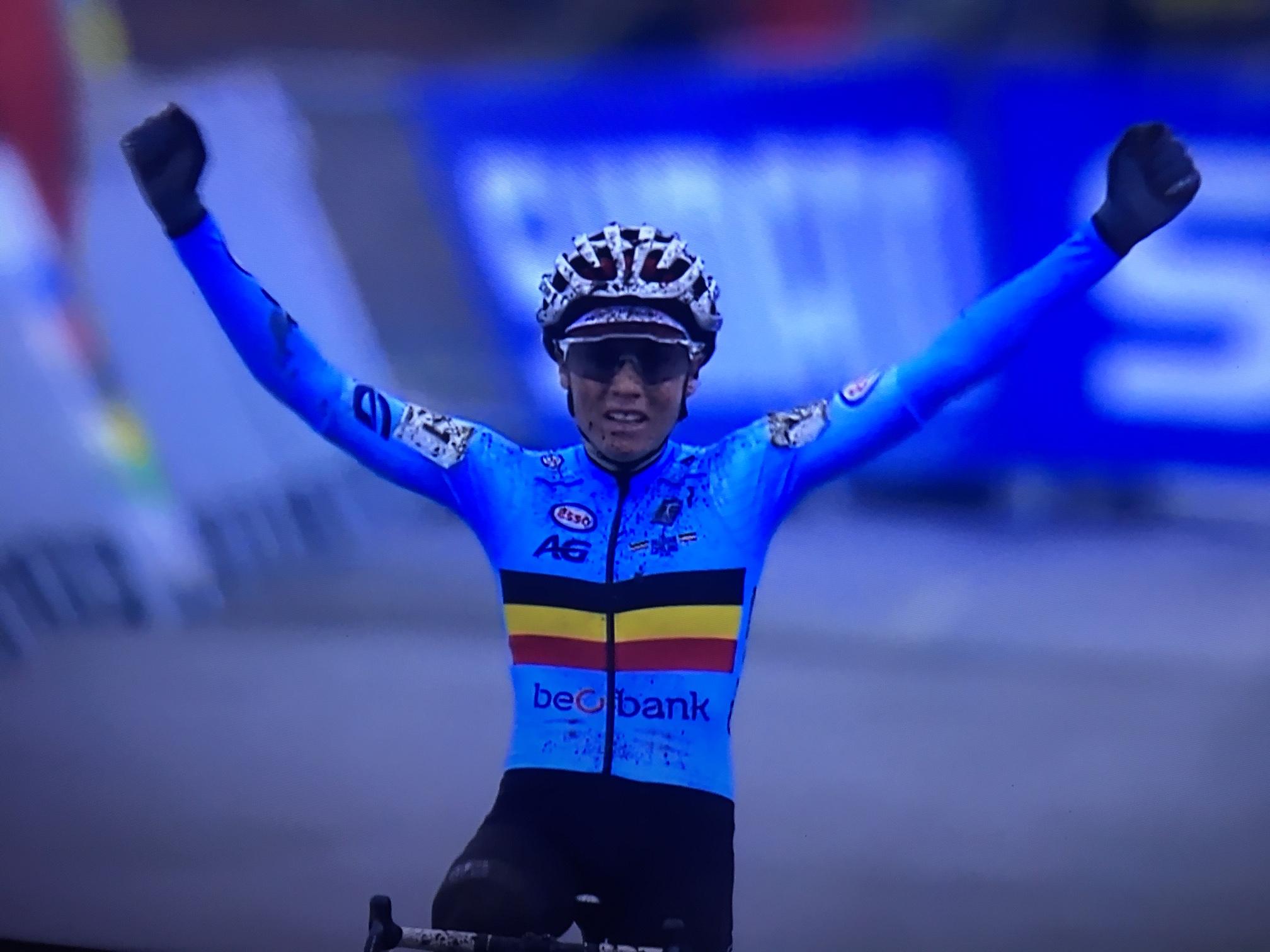 Sanne Cant is voor derde opeenvolgende keer wereldkampioene in Bogense