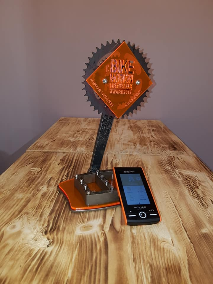 ROX 12.0 SPORT van Sigma wint Bike Motion Award