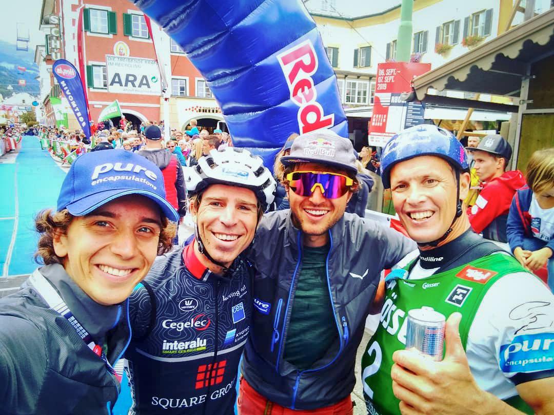 Frans Claes derde in Red Bull Dolomitenmann