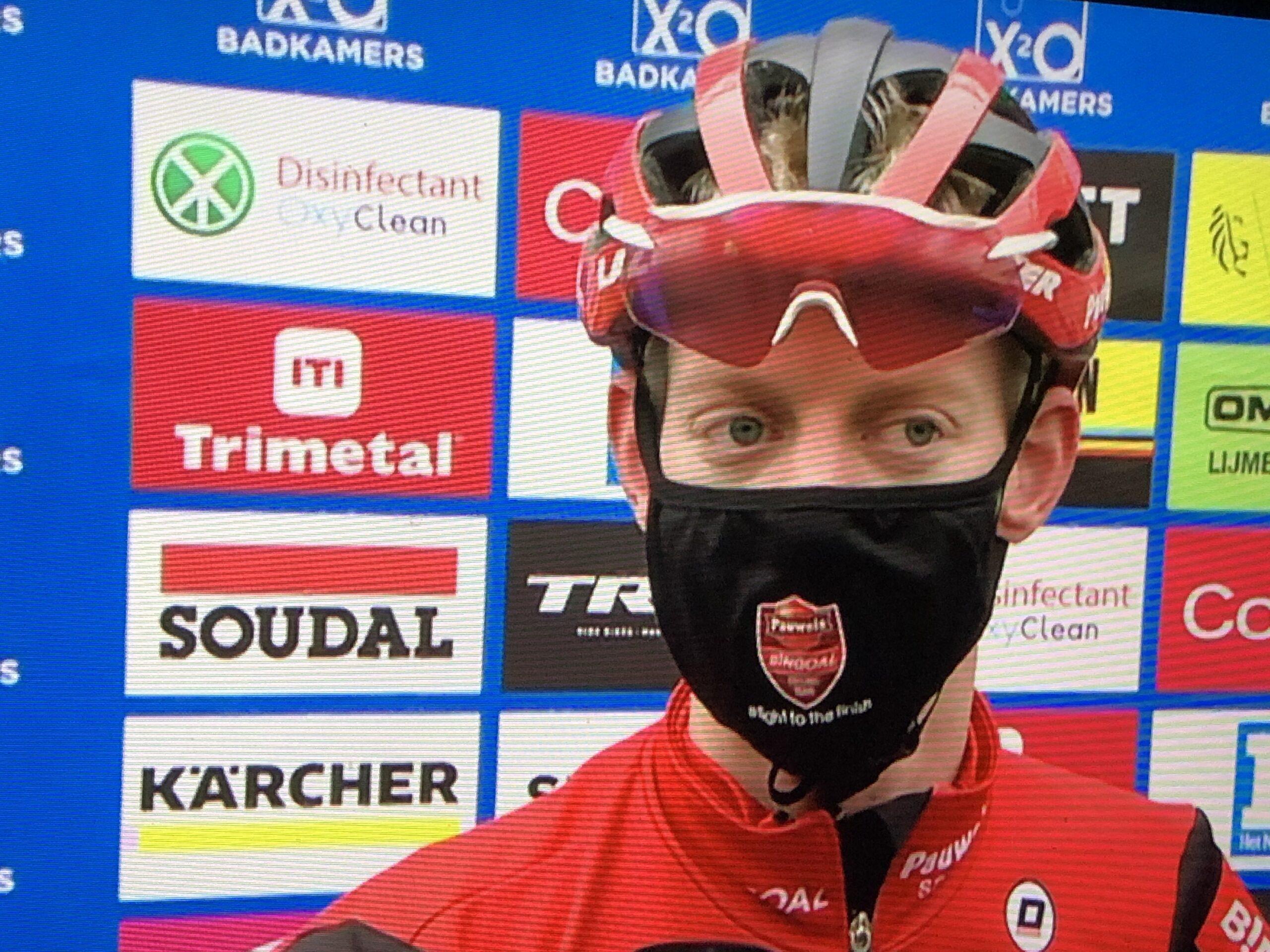 Michael Vanthourenhout wordt aanzien als één van de underdogs
