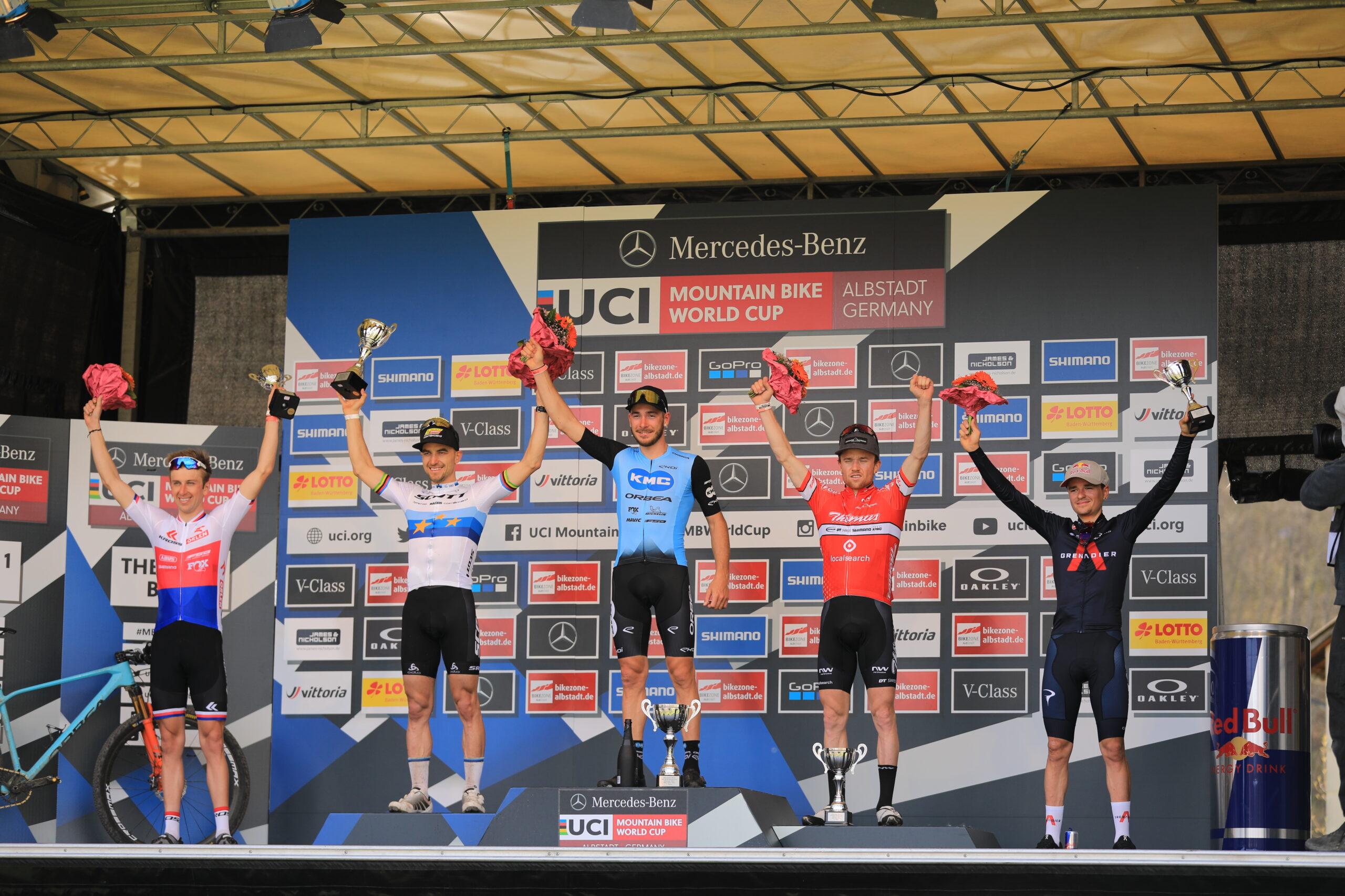 Victor Koretzky verslaat Nino Schurter in de sprint in wereldbeker Albstadt