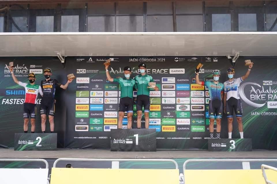 Huber en Schneller winnaars tijdrit Andalucia Bike race, Alleman-Ferreira derde