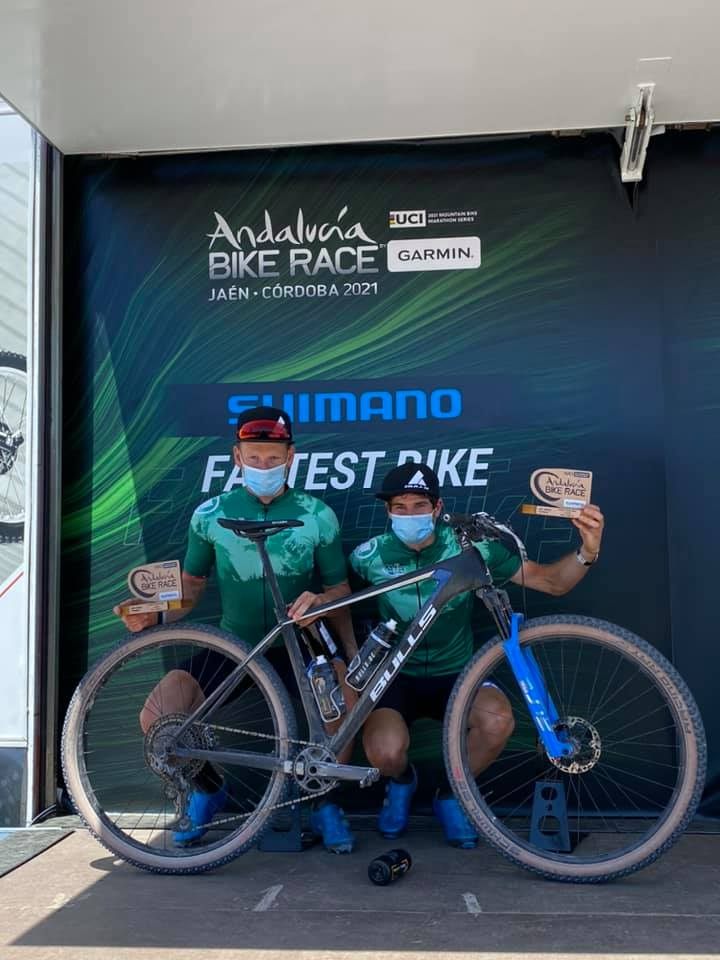 Team Bulls wint derde rit in Andalucia Bike race