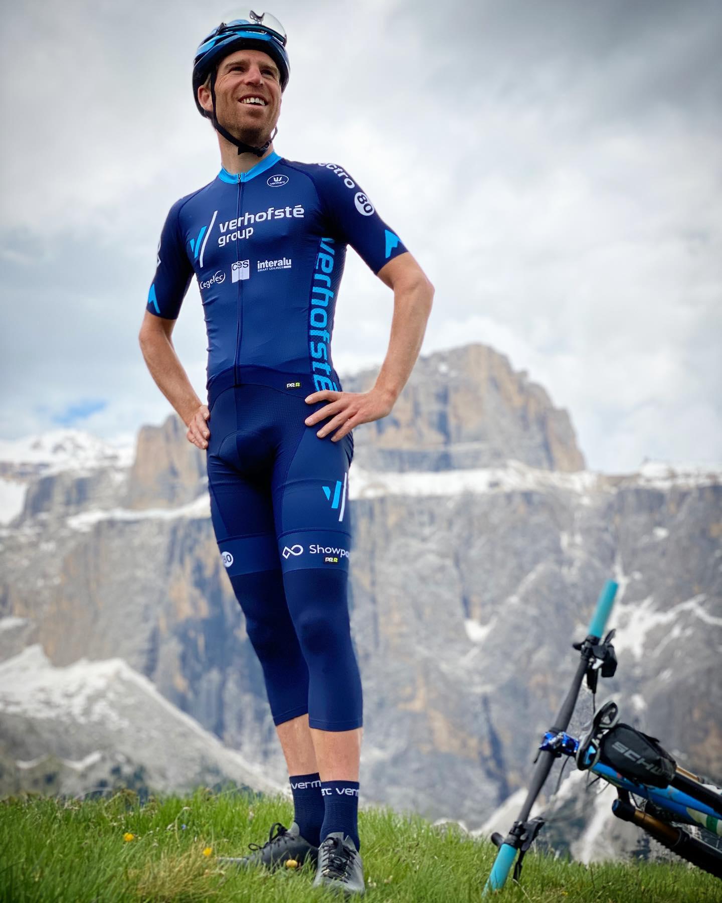 Frans Claes moet opgeven in de Sella Ronda Hero Dolomites