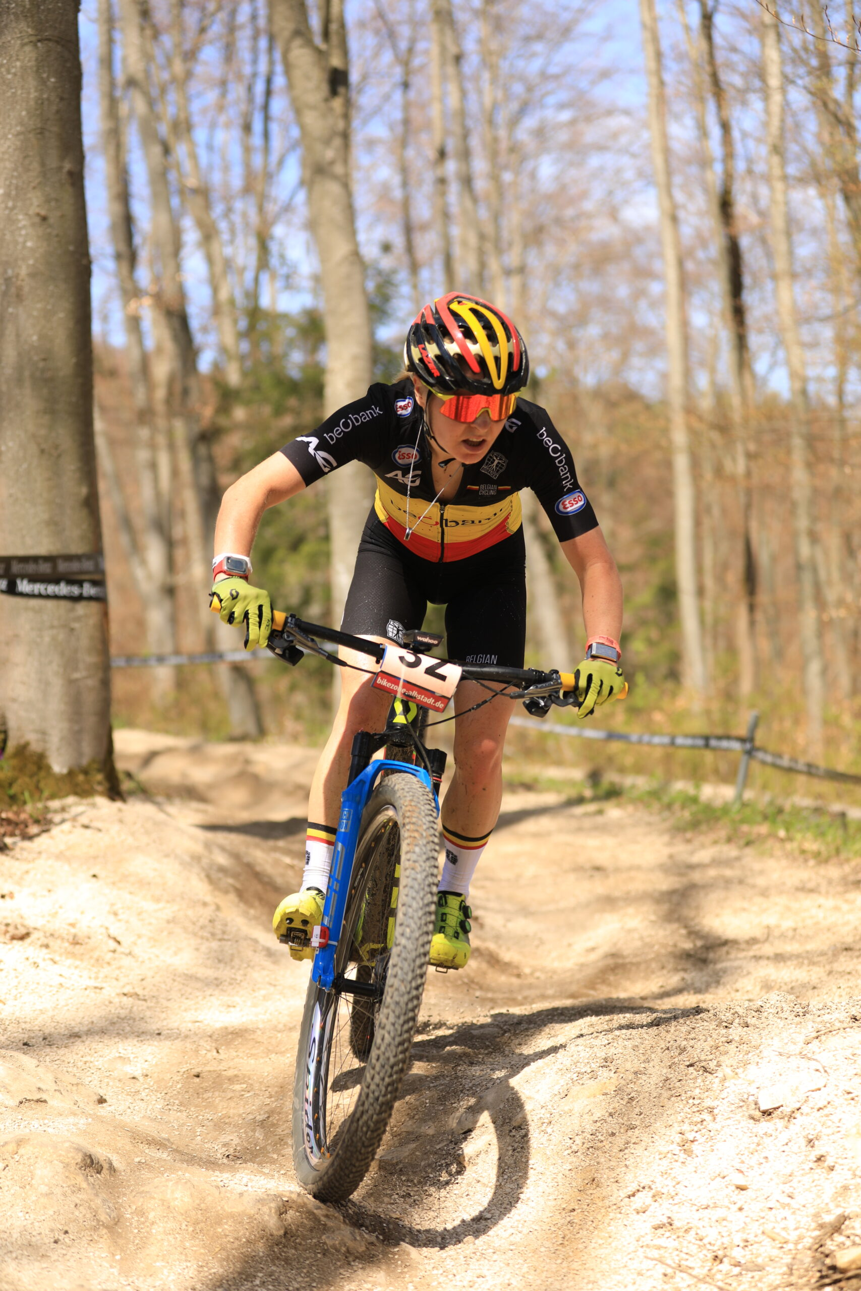 Githa Michiels mag weer fietsen