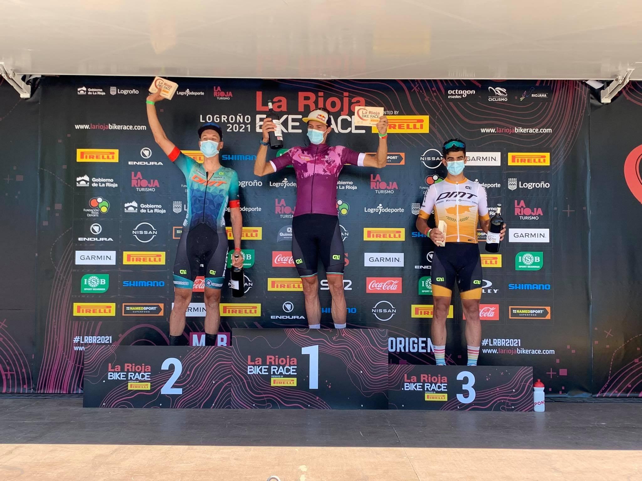 Wout Alleman en ploegmaten doen het uitstekend in de La Rioja Bike race