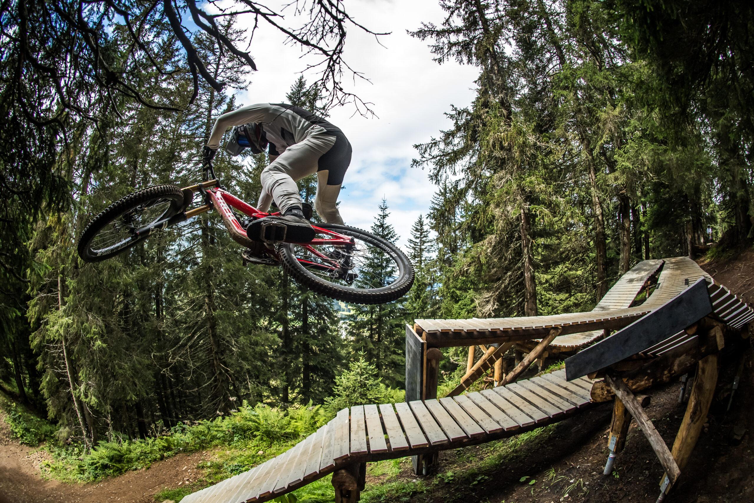 Bike Kingdom Park Lenzerheide start in het zomerseizoen
