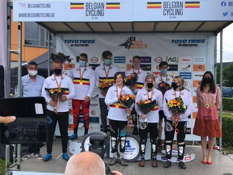 Belgische Kampioenschap BMX te Massenhoven.