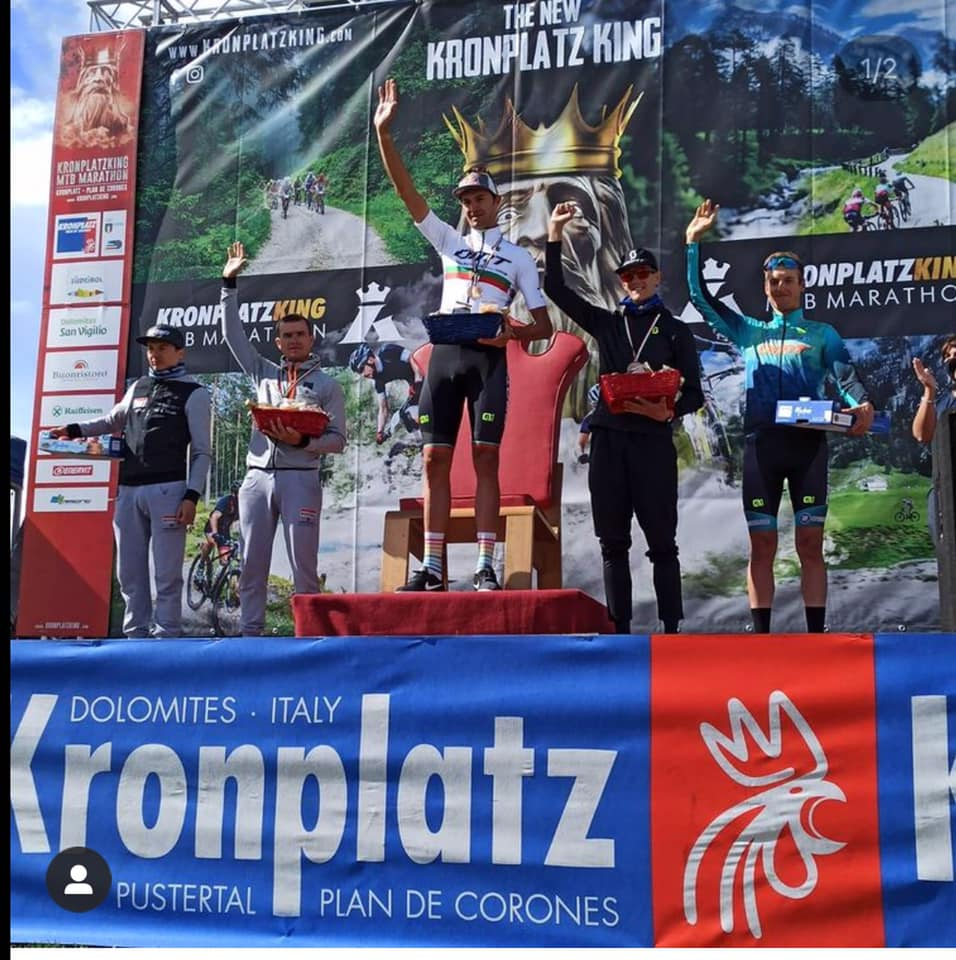 Tiago Ferreira en Katazina Sosna winnen Kronplatzking
