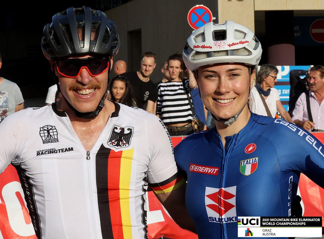 Simon Gegenheimer en Gaia Tormena wereldkampioenen Eliminator
